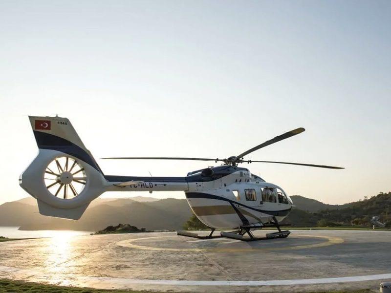 d maris bay helikopter turkije
