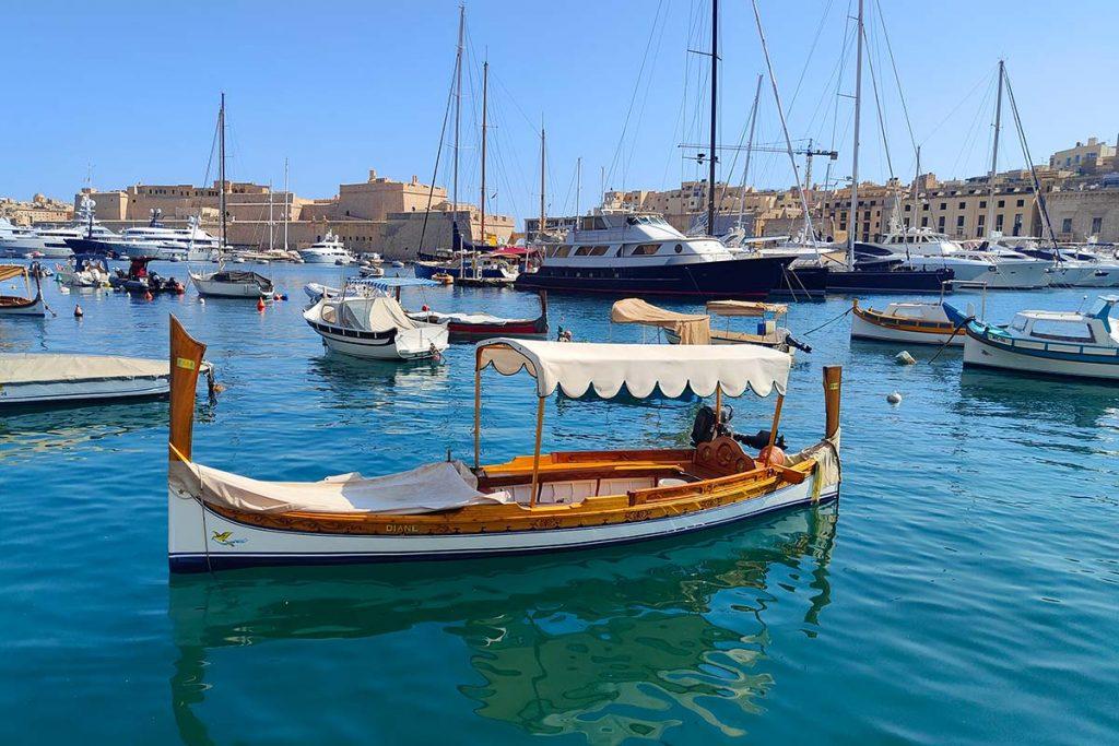Vaar naar de Three Cities vanuit Valletta