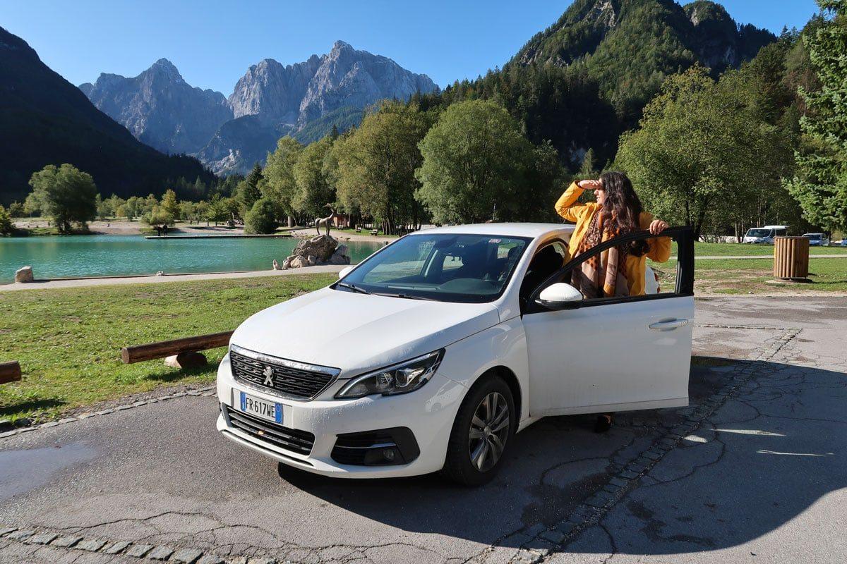 auto huren in Slovenië