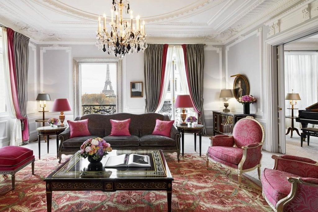 Beste hotels Parijs plaza Athenee