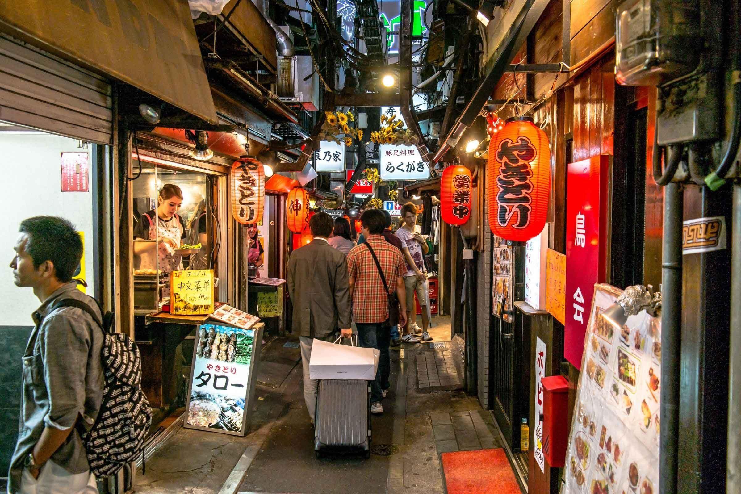 Wat te doen in Tokyo - Bezoek Golden Gai in Shinjuku