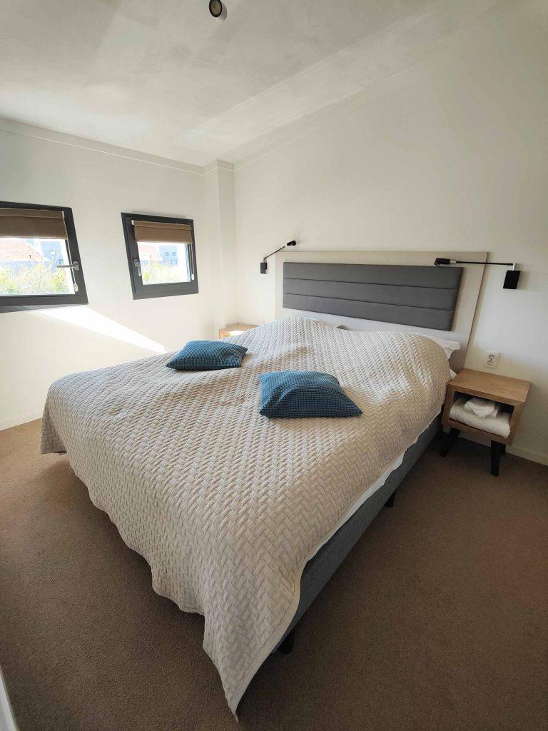 Hotelstudio Oasis Punt-West Slaapkamer