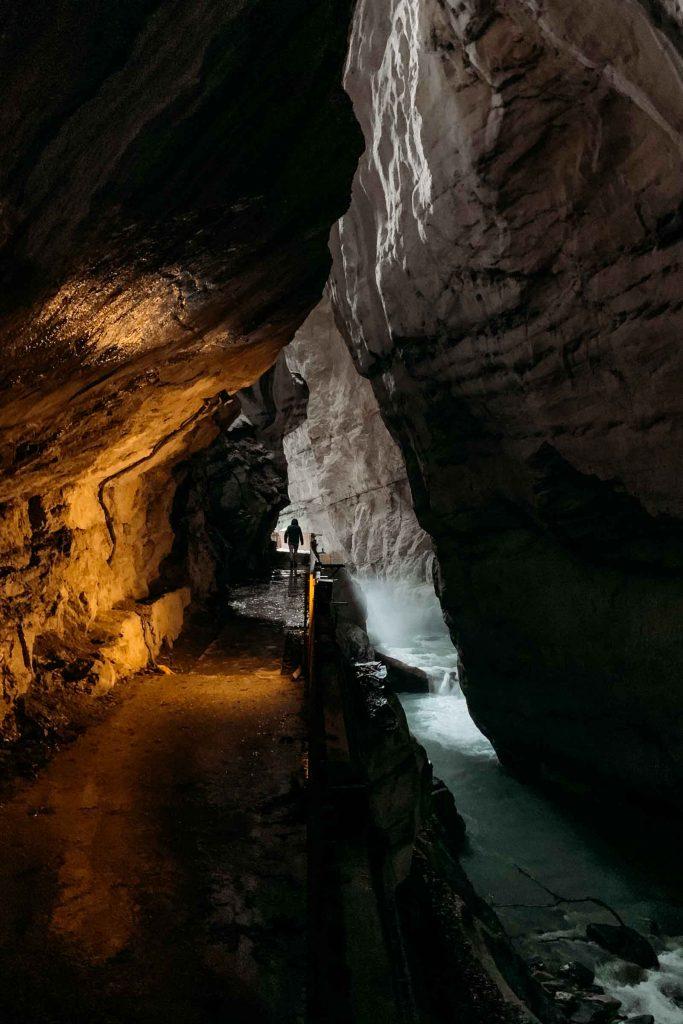 Tamina Gorge Zwitserland