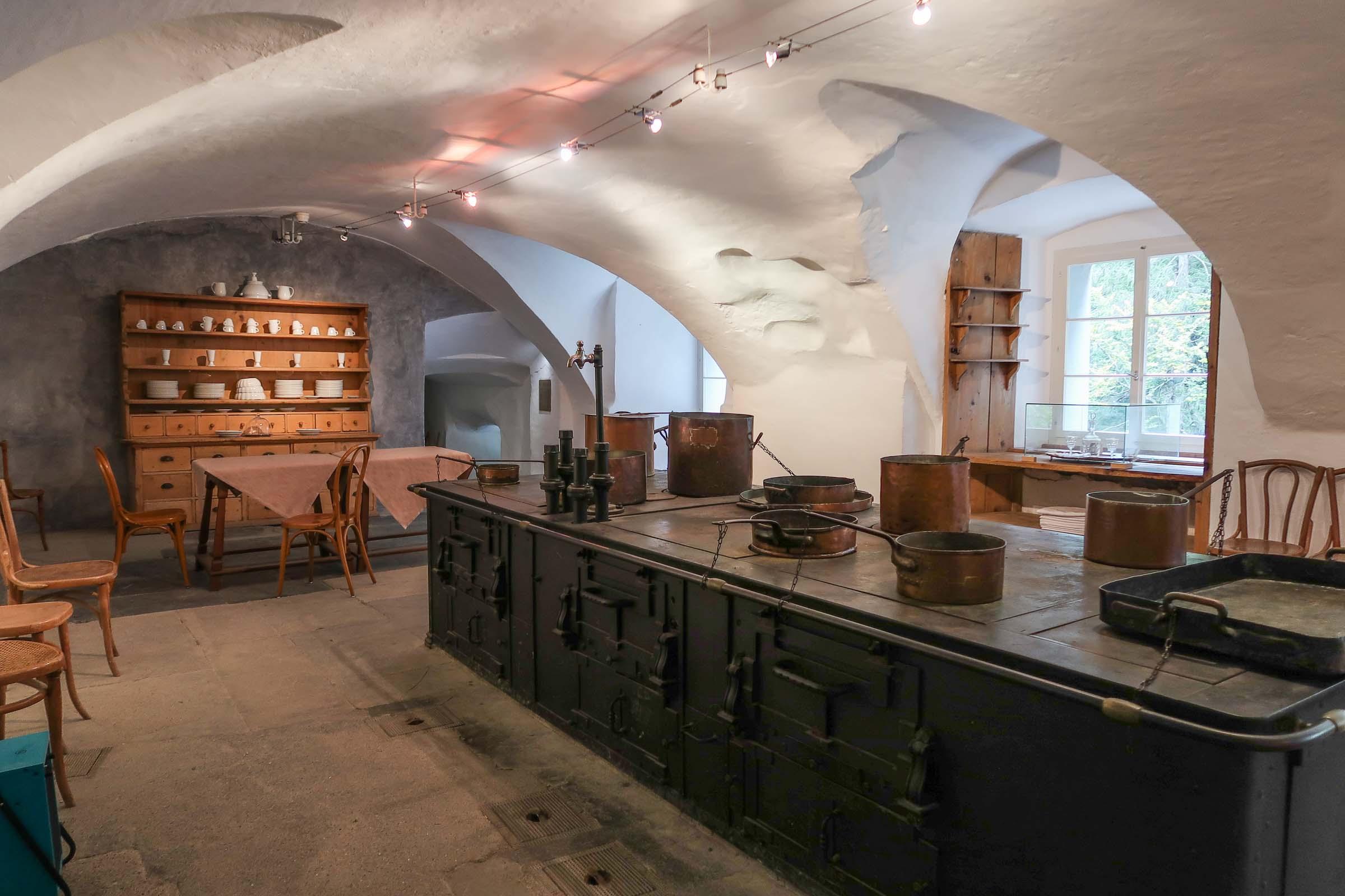 Alte Bad Pfäfers barokke badhuis