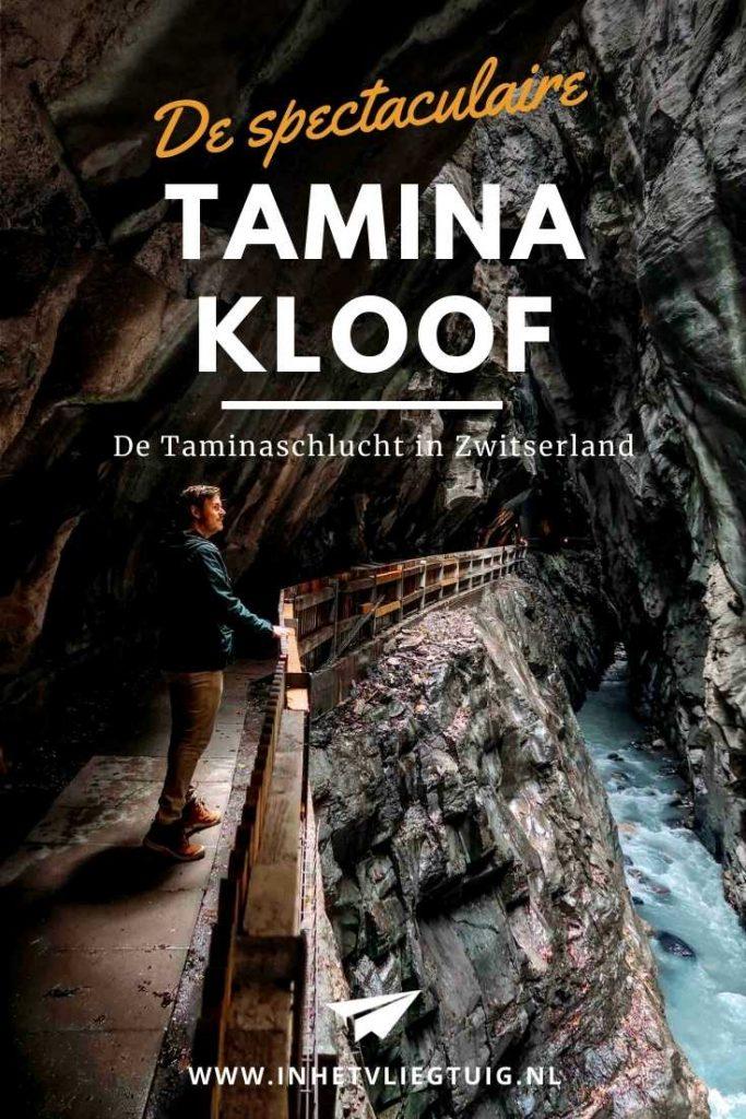 Tamina Kloof in Zwitserland