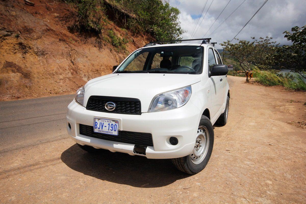 Tips auto huren Costa Rica